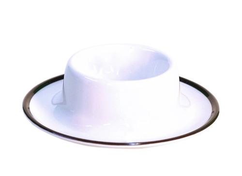 Melamine egg cup LINEA black, set of 4, Gimex