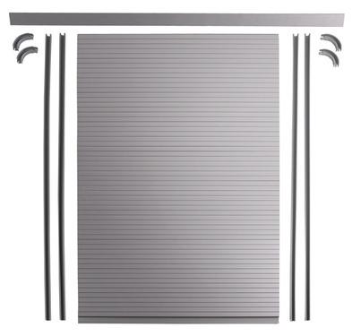 Carbest Rollladen-Kit - Inkl.. Lamellen, Schienen, Kurven, Winkelprofil