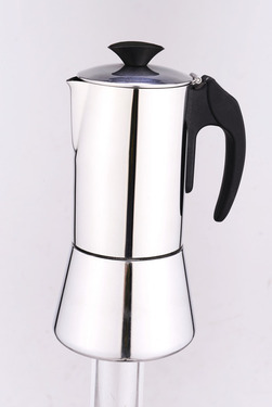 Cafetière espresso DeLuxe, acier inoxydable, 6 tasses