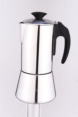 Espressokocher DeLuxe, Edelstahl, 6 Tassen