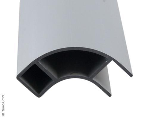 Aluminiumsmøbler hjørneprofil 2,2m åben på den ene side