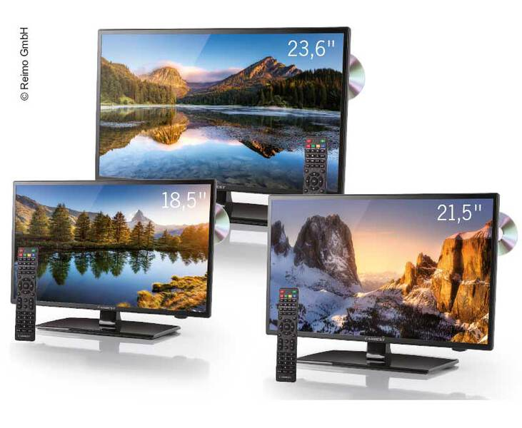 "TV LED widescreen - TV A LED 23.6""."