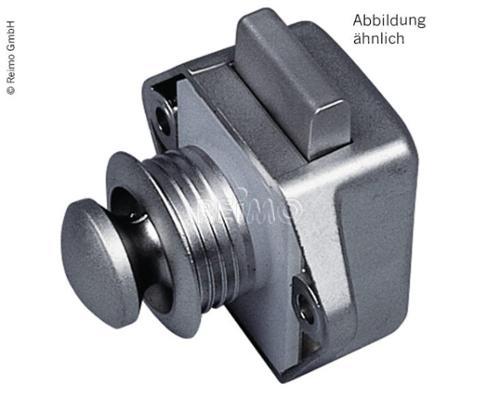Push Lock Mini - Möbelschloß weiß