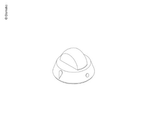 Rotary knob cooker black