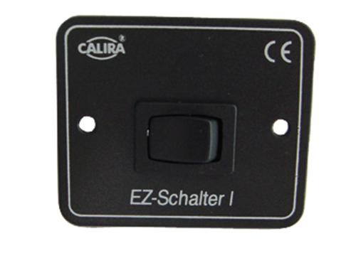 Rocker switch 12 V black