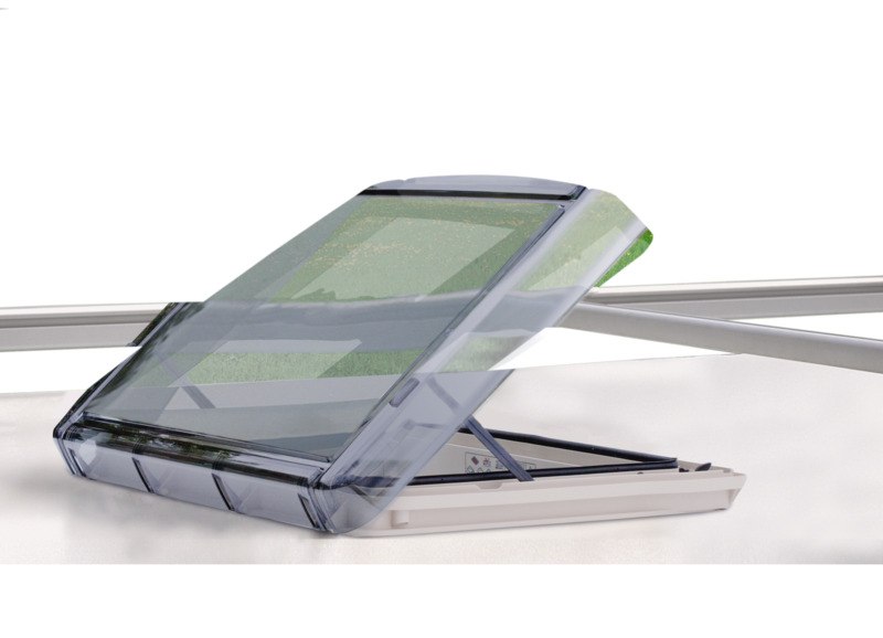 REMItop VarioII Rooflight 40x40cm with notched positioner