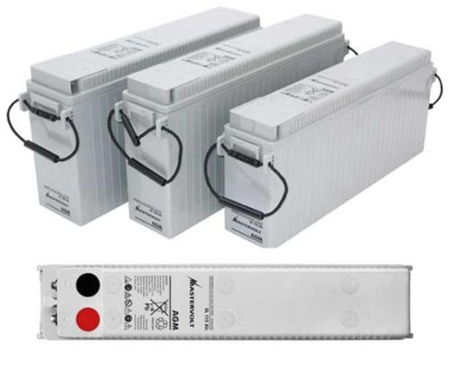 AGM SlimLine SL batteries in particularly slim design