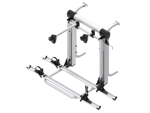 rear rack E-Bike Lift Short Rail for 2 E-Bikes or 3 wheels up to 60kg