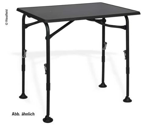 Westfield Camping Table, AIRCOLITE, 100x68, blackline
