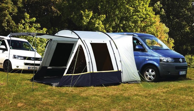 VW Busvorzelt Tour Easy 3 mit einhängbarem Boden