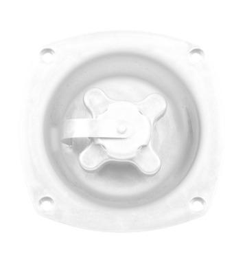 Fyldstof med skruehætte i hvid