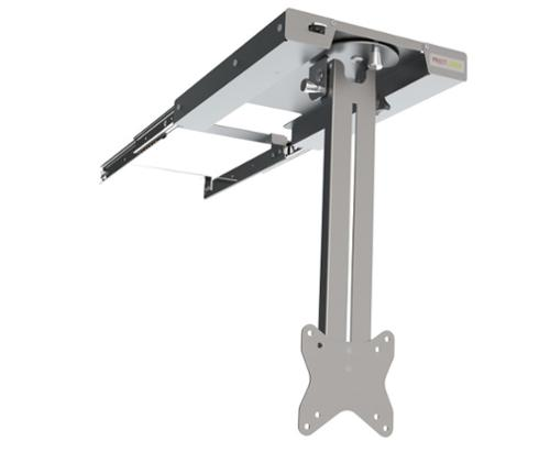 TFT holder to pull out for the ceiling