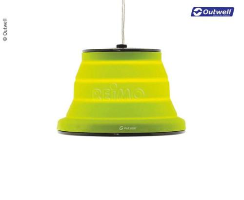 Lampe Leonis 230V, dimmbar, grün, faltbar