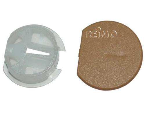 conector de maceta - conexión de la maceta.marrón claro50pcs