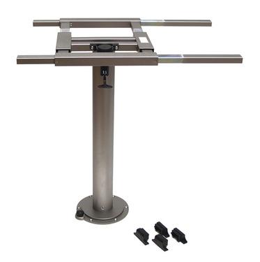 Einsäulen - Tischgestell starr