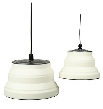 Silicon Lampe SMILLA 15, faltbar, dimmbar, 15x10cm, 5m Kabel