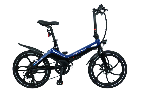 """Składany rower elektryczny """"FIETE 500"""""""