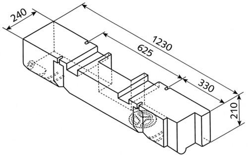 Wassertank T4, 300/055 ab Bj.7/90