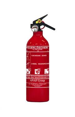 ABC Feuerlöscher 1kg mit Druckanzeige