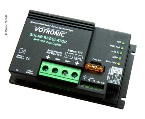 MPPT Charge controller -painted - MPP 430 Duo Digital 12V