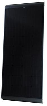 Panel słoneczny Czarny 180W ze wspornikami, ogniwa monokrystaliczne