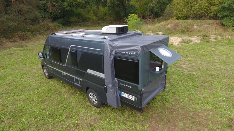 Rumskoncept XXL Sleep - udvidelse til varevogne L1-L3, H2