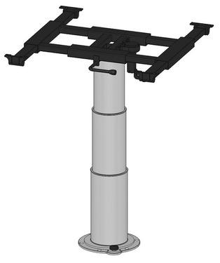 Einsäulenhubtisch 355-730mm, Hub 375mm