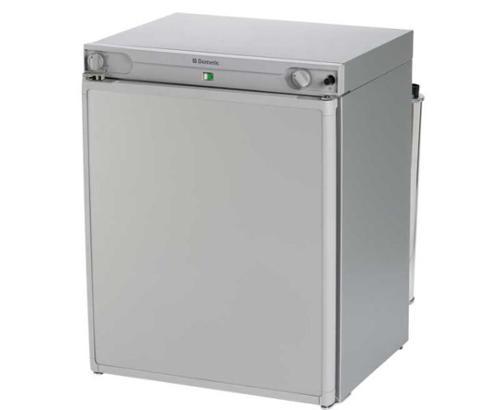 Absorber Kühlschrank RF60 30mbar,12V/230V/Gas in Alu Black