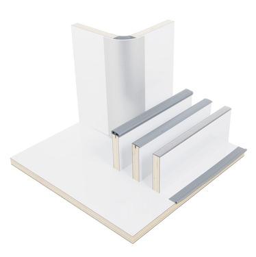 Pannello da costruzione per mobili bianco lucido, HPL