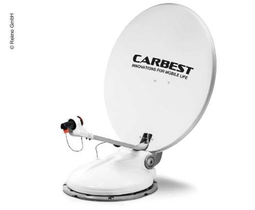 Carbest Travelsat 2 - Twin Sat-Anlage mit Bluetooth und Skew (80 cm)