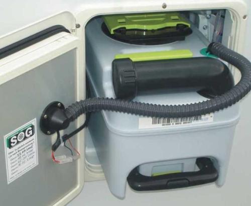 Ventilación WC SOG 3000 A para modelos CT - SOG segunda conexión CT3000