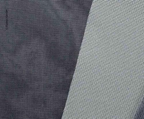 Gardin stof lavet af Trevira CS, grå
