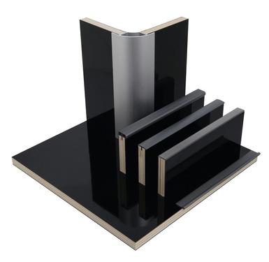 Møbler bord højglans sort, HPL