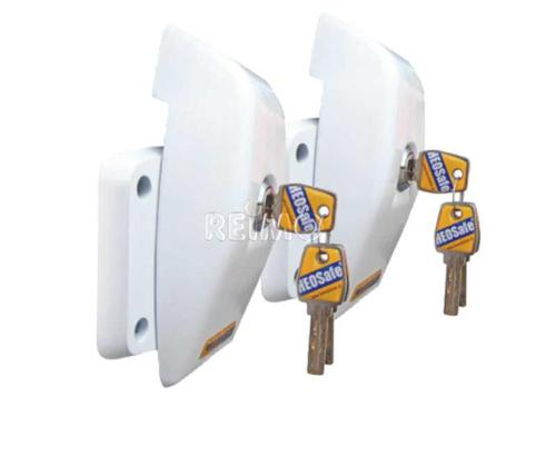 VAN Security voor schuif-, achter- en draaideuren Set van 2