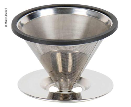 Stainless steel coffee filter for 5 cups