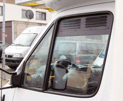 Ventilationsgitter til VW Crafter fra 03/2017