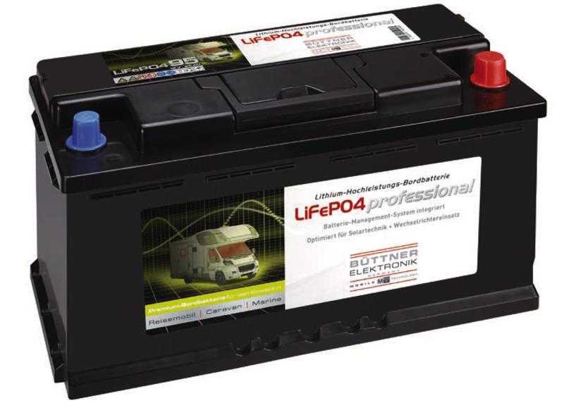 Bordbatterie mit Lithium-Technologie