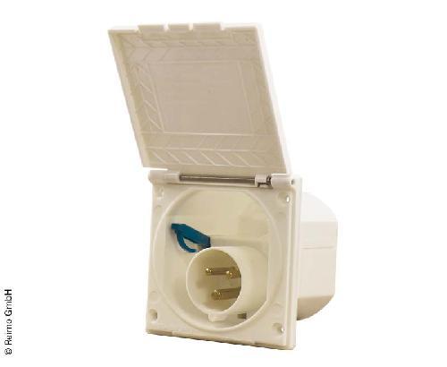 CEE input plug cover loose