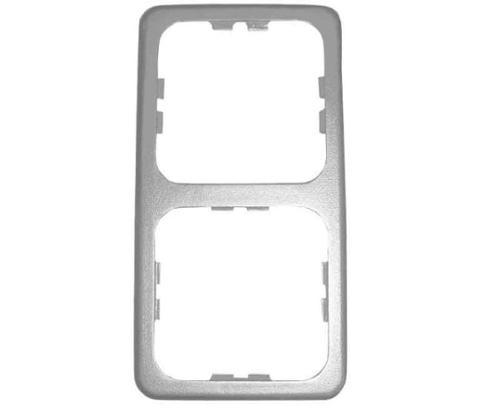 Dubbel frame zilver los