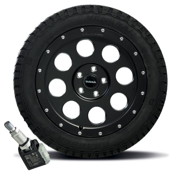 Ruedas completas para VW T5 / T6 / T6.1, con sensor de presión de neumáticos original VW