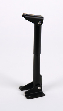 Table top holder foldable length 150mm, aluminium black anodized