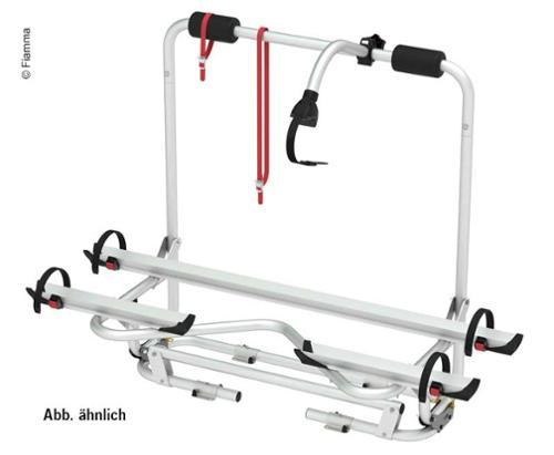 Disselhouder XL A Pro 50 kg, voor 2 wielen, blauwe uitvoering, max. 3 wielen