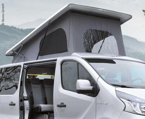 Renault Trafic Aufstelldach KR vorne hoch Easy Fit Gurtverschluss