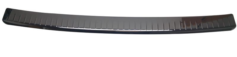 Roestvrijstalen bumperbescherming voor VW Transporter T5, kleur zwart