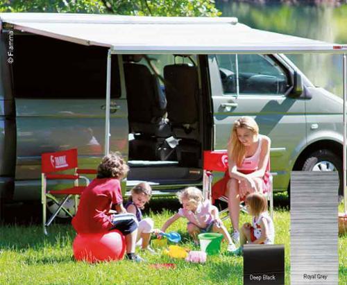 F45S 300 Housing Deep Black, Cloth Royal Grey, Multi Van