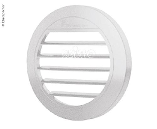 Ausströmer flach 30° für Standheizung Airtronic D2, Ø50/60mm, weiß