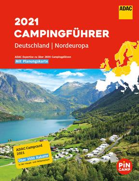 ADAC Camping Guide 2021 Tyskland + Nordeuropa