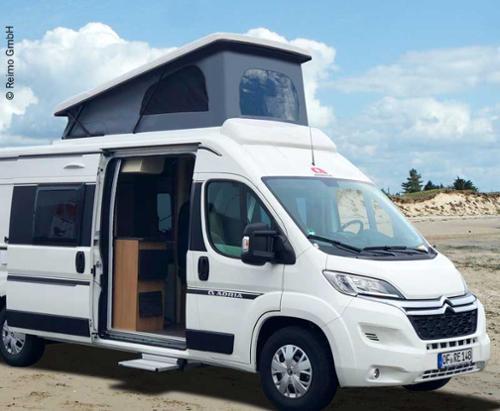 Maxivan Comfort Universal sleeping roof white