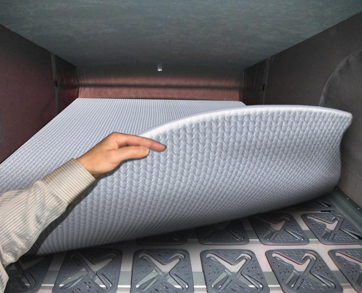 Dachbettsystem Luxus mit Tellerfedersystem, für Easy Fit Dächer T5,T6, LR