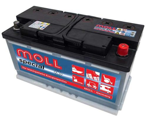 Batterie solaire Moll special classic, batterie solaire 12V 100Ah